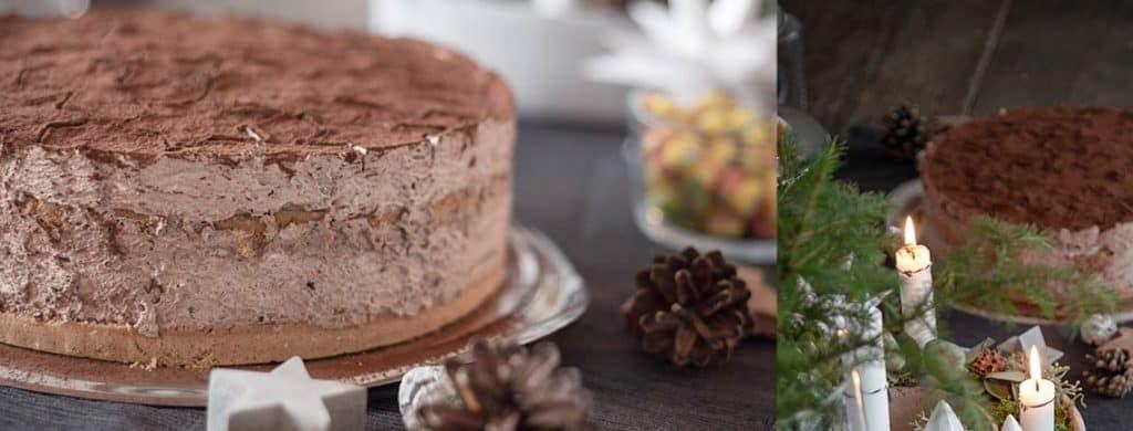 Rezept für die leckere no-bake-Torte
