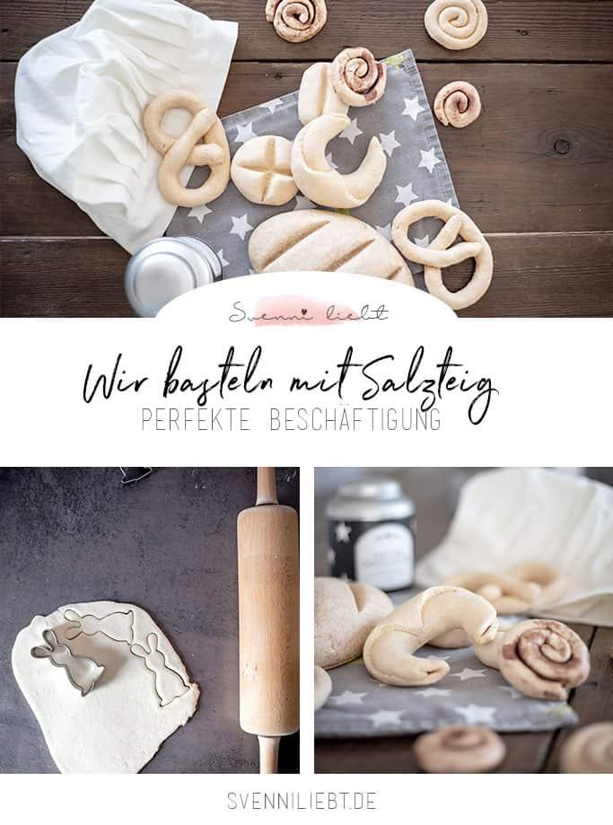 Basteln mit Salzteig für den Kaufladen/Marktstand oder die Kinderküche Vorlage für Pinterest