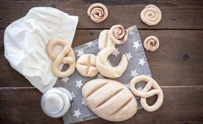 Basteln mit Salzteig für den Kaufladen/Marktstand oder die Kinderküche