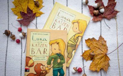 Kinderbuchvorstellung Luna und der Katzenbär