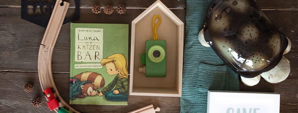 Kinderbuchvorstellung Luna und der Katzenbär - der magische Ausflug