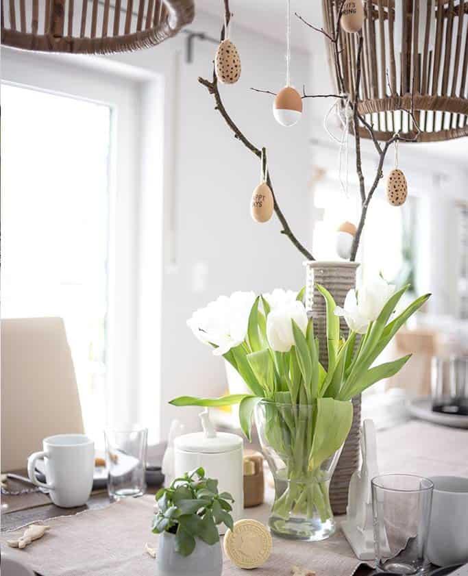 Osterbrunch mit DIY-Osterdeko