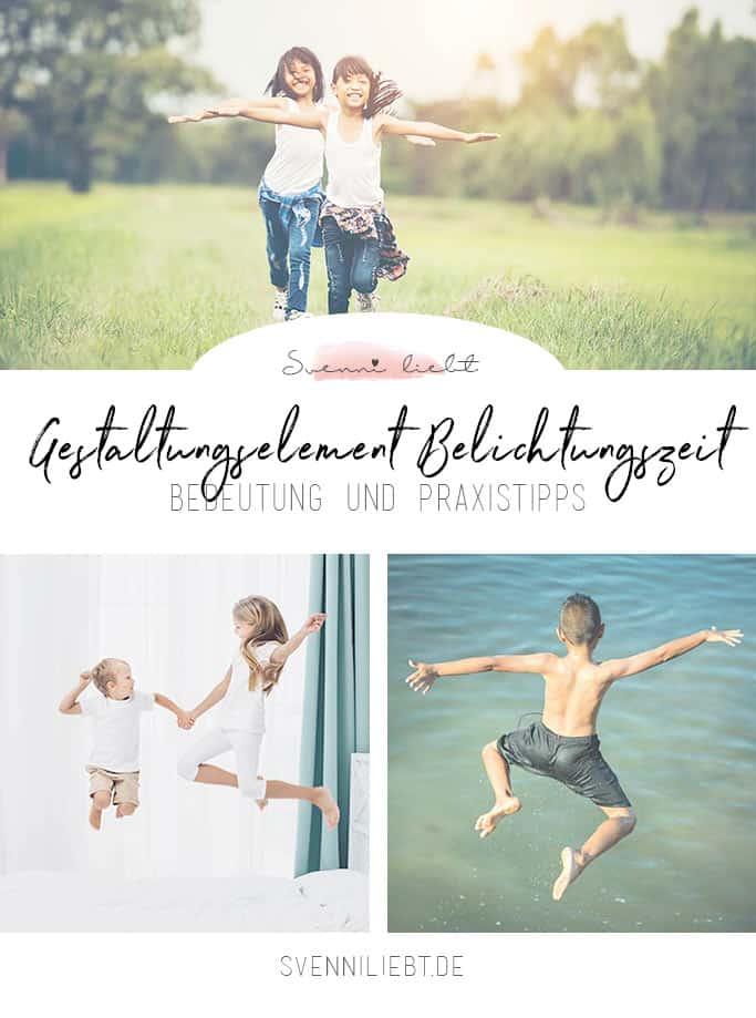 Gestaltungselement Belichtungszeit: Bedeutung und Praxistipps in der Kinderfotografie