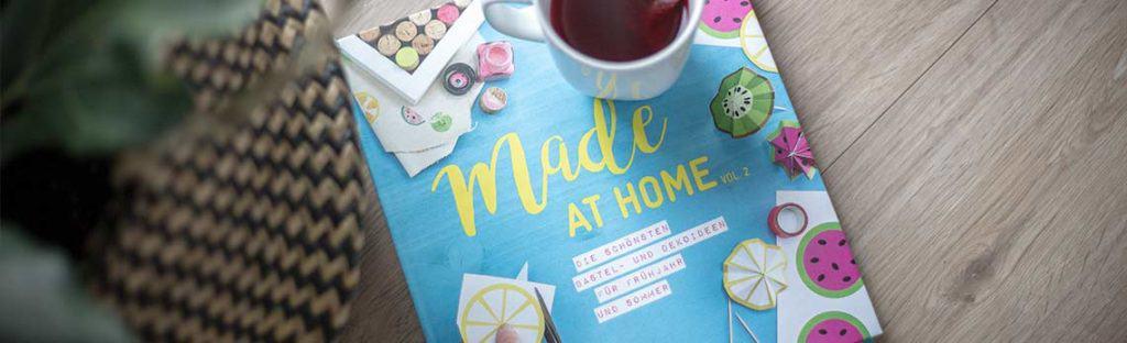 """Bastel- und Ideenbuch """"Made aht Home"""""""