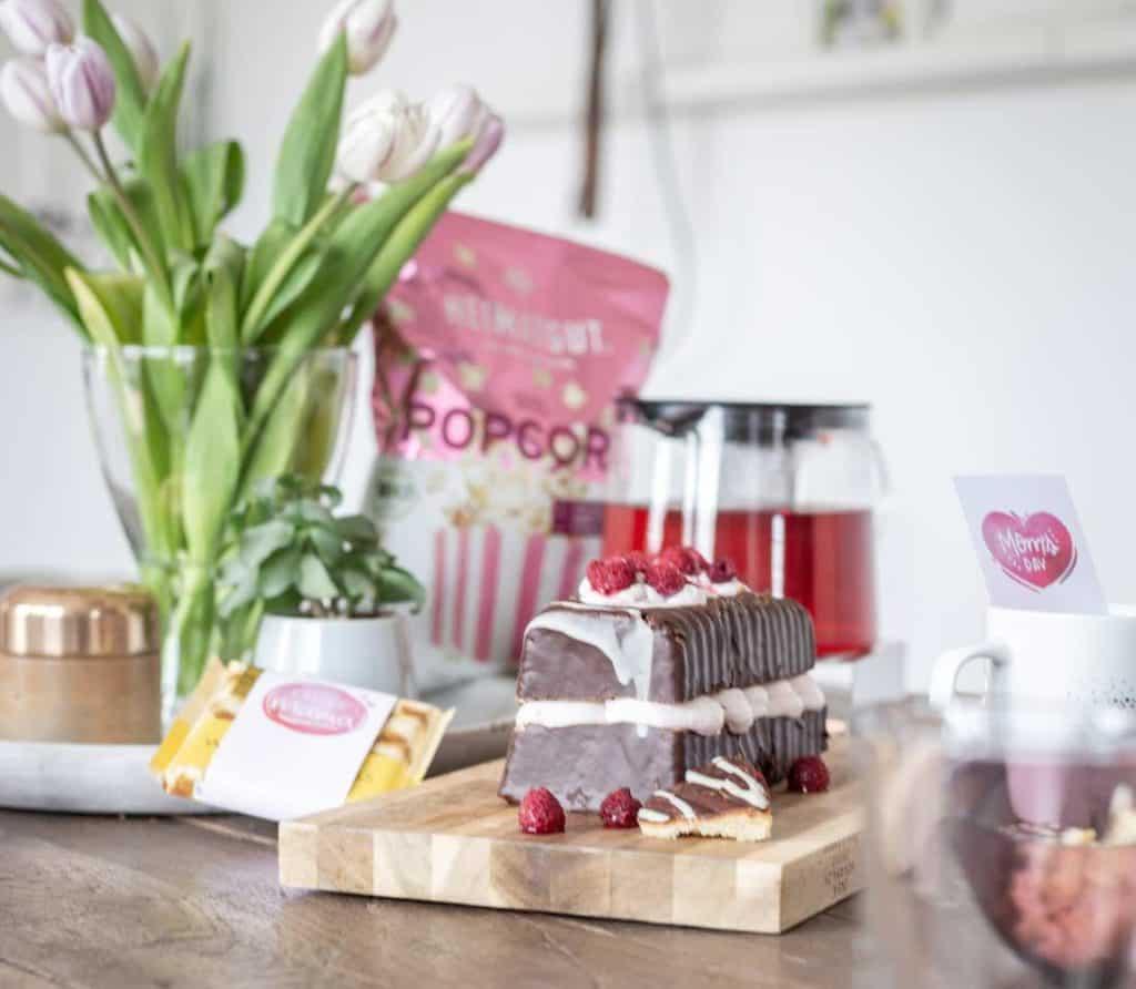 Eine esey peasy Torte als Muttertagsgeschenk