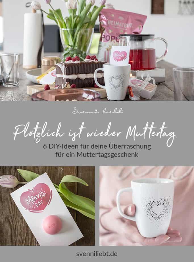 Merke dir die DIY-Ideen für dein Muttertgsgeschenk auf Pinterest