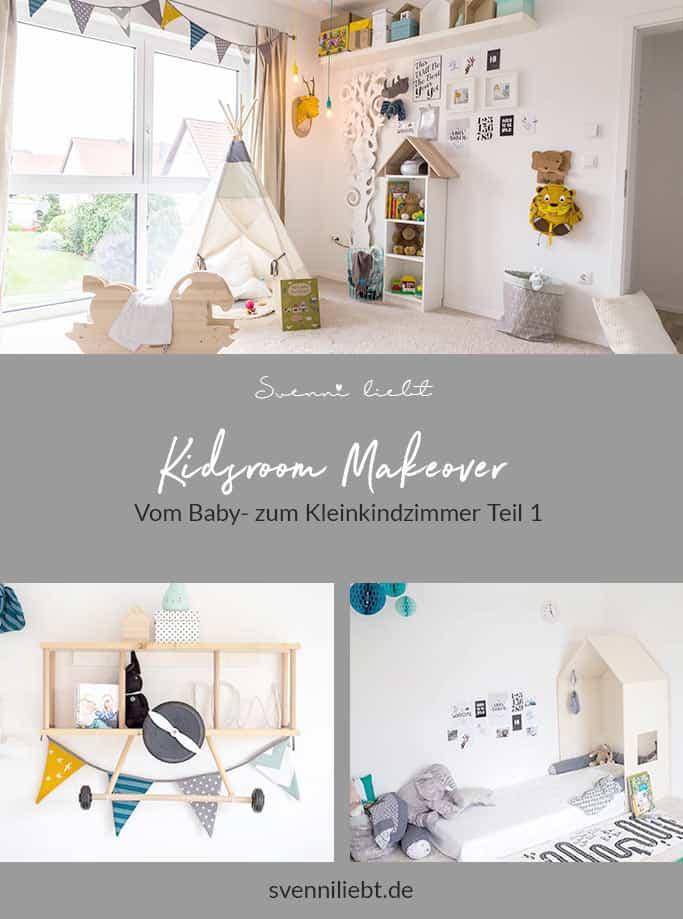 Kidsroom Makeover – Vom Baby- zum Kleinkindzimmer Teil 1