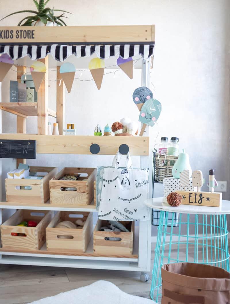 DIY Eis für den Kaufladen / Kaufmannsladen und den Marktstand