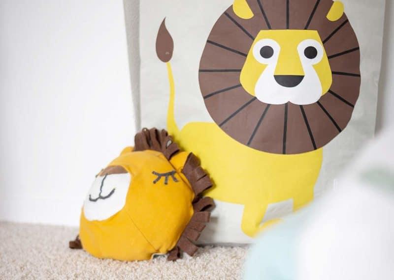 Schritt für Schritt DIY-Anleitung für dein kuscheliges Löwen-Kissen