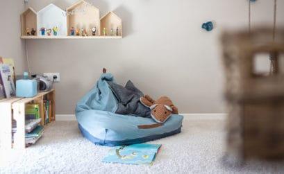 DIY Sitzsack für Kinder nähen - Die Anleitung!