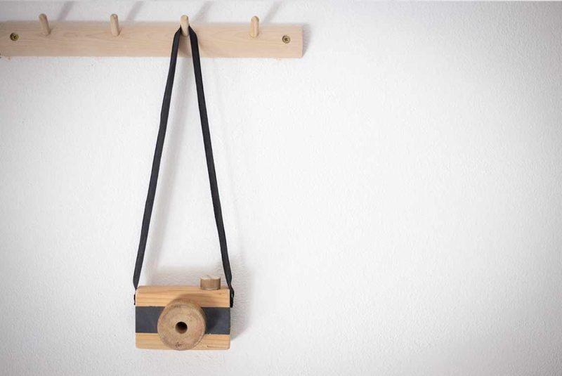 DIY Holzkamera für Kinder