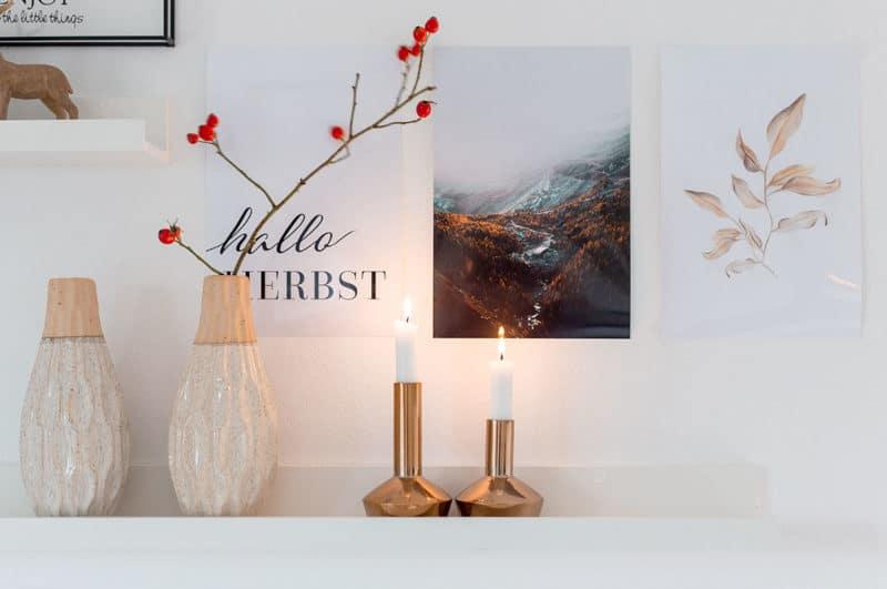 Herbstdeko mit Sprüchen und Fotos: Free Printable und Freebie