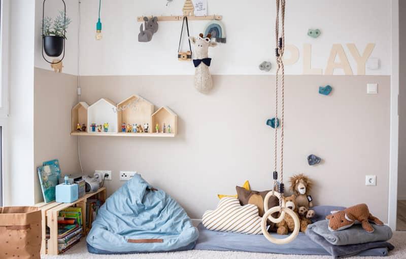 Montessori inspiriertes Kinderzimmer