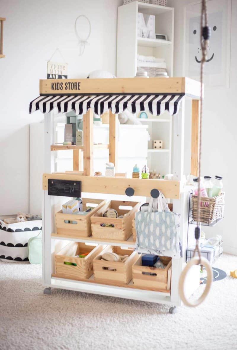 DIY Marktstand Kidsroom Make Over