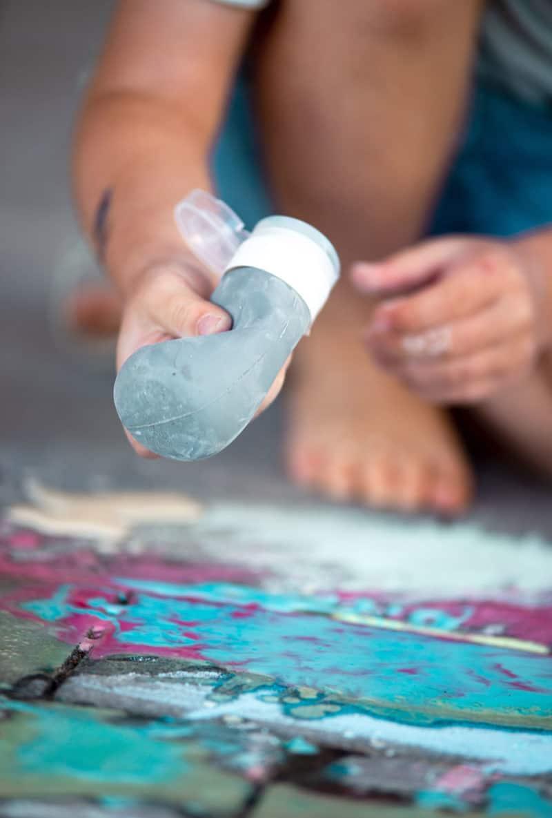 Flüssige Kreide einfach selber machen  aus Speisestärke