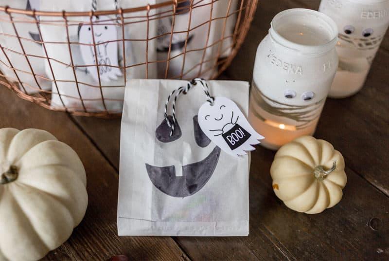 Süßes oder Saures – DIY-Halloween-Süßigkeiten-Verpackung