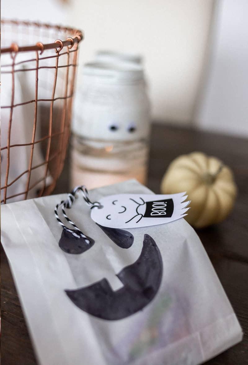 Bastel deine Halloween Goodie-Bags