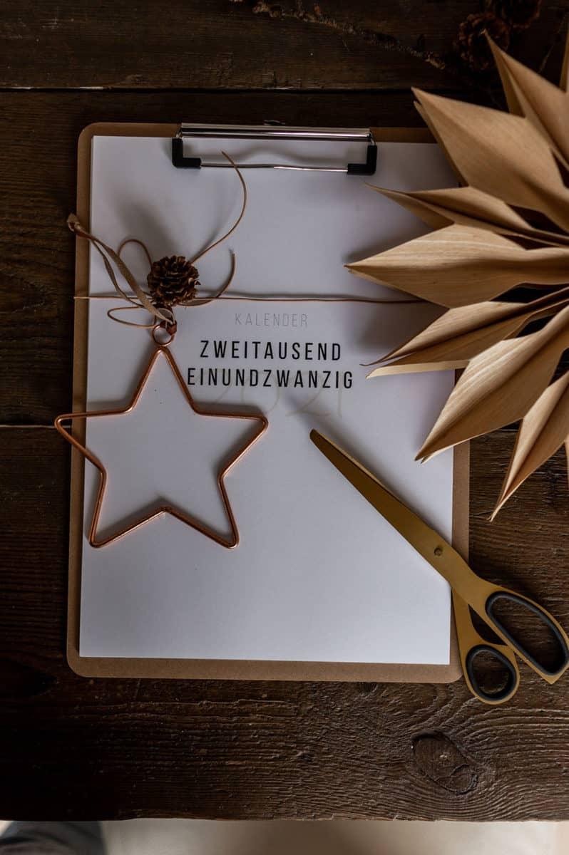 Weihnachtsgeschenk Fotokalender 2021