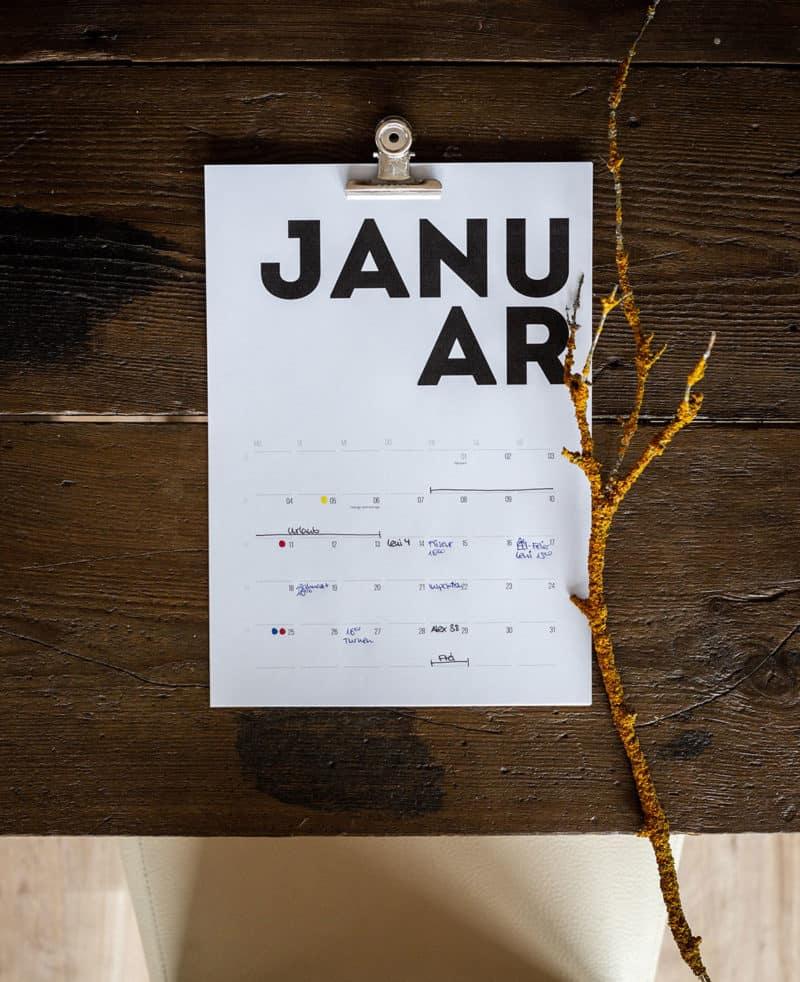 Kalender 2021: Kostenloser Download