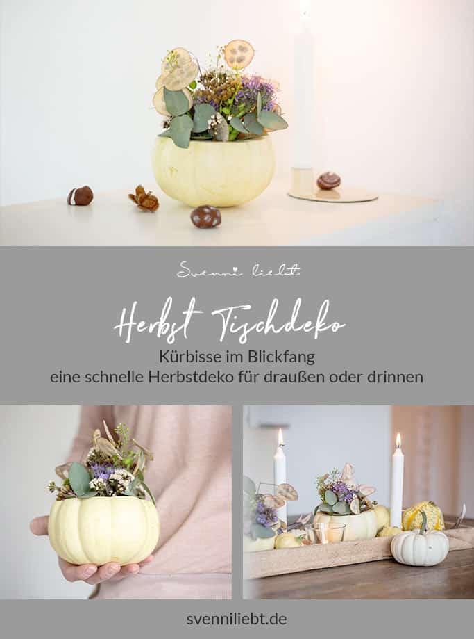 Merke die die Idee der Blumenvase aus Kürbis auf Pinterest