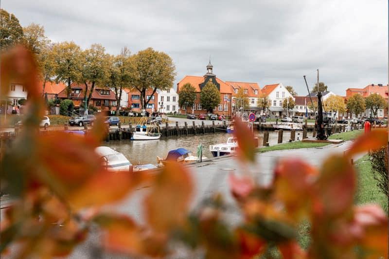Historischer Hafen in Tönning bei St. Peter-Ording