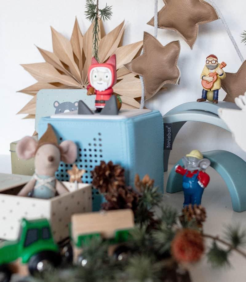 Geschichten voller Abenteuer mit der Toniebox zu Weihnachten