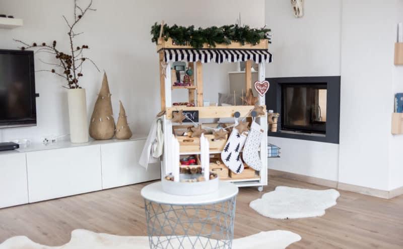 DIY Anleitung für den Kaufladen oder Weihnachtsmarktstand