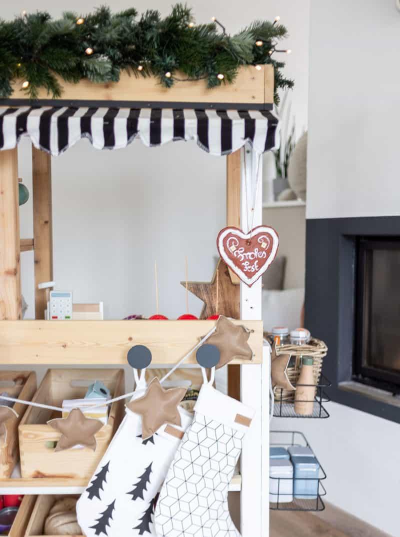 Weihnachtsmarkt im Kinderzimmer