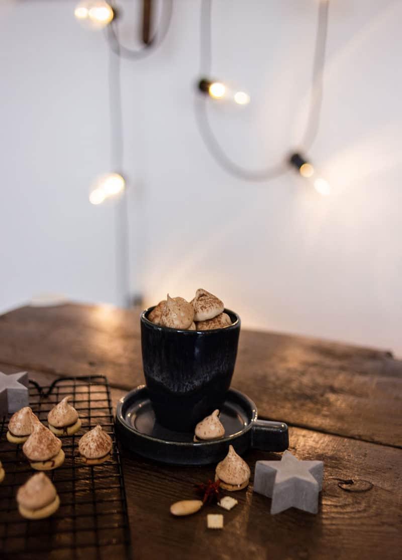 Zarte Baiser-Mürbeteig-Tropfen - Rezept für himmliche Kekse