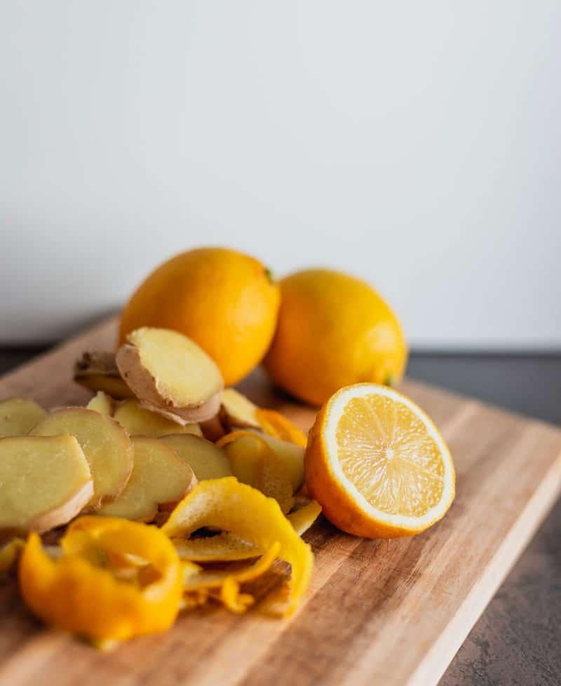 Ingwer, Zitrone und Honig gegen Erköltungen