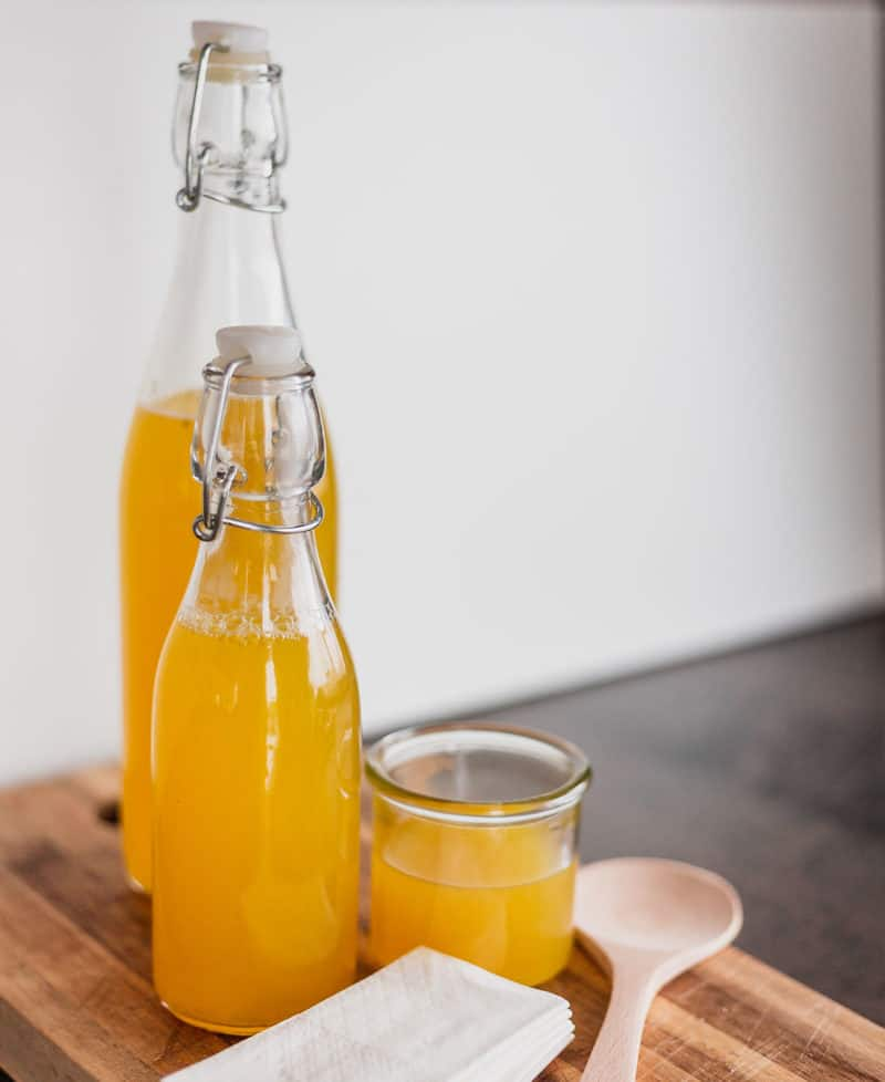 Die Wirkung des Erkältungselixiers Ingwer-Zitrone-Sirup