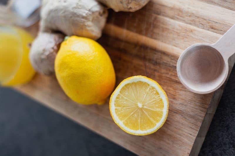 Rezept für Ingwer-Zitrone-Sirup
