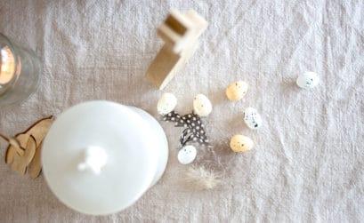 DIY Osterdeko aus Naturmaterialien modern schlicht