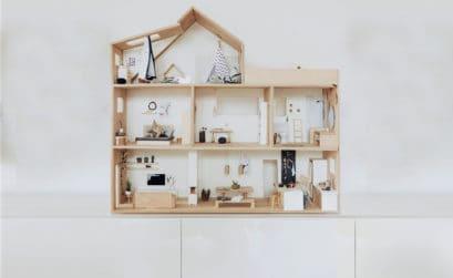 DIY: Puppenhaus 1:12 für die Maileg Mäuse bauen – mit Anleitung und Bauplan