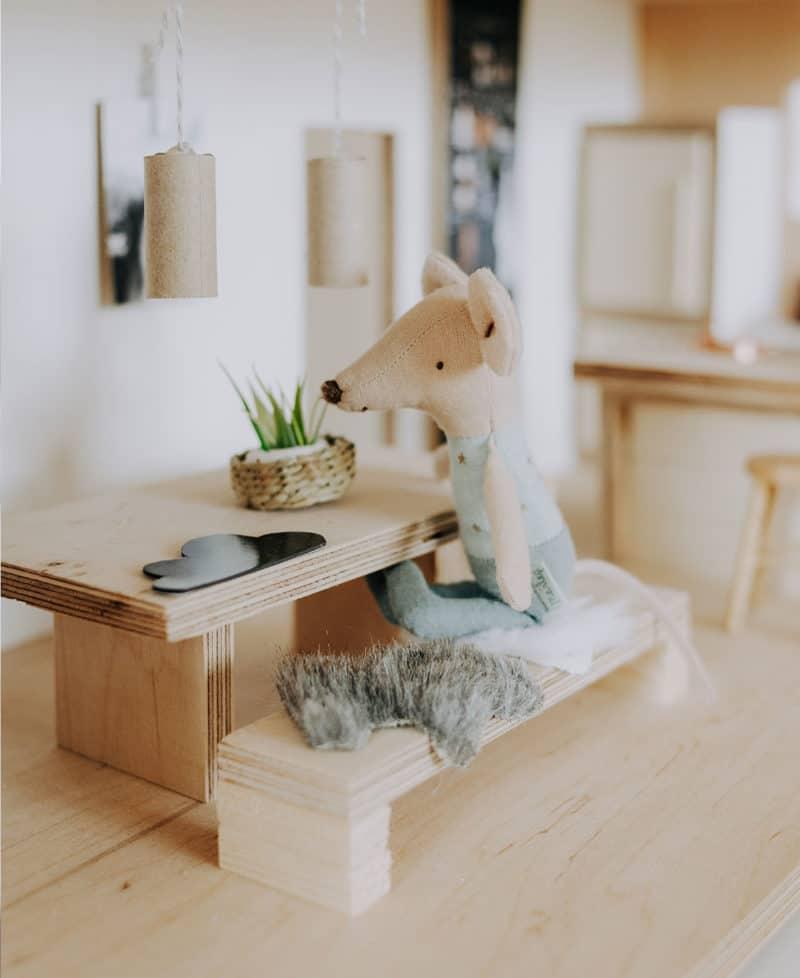 Puppenhaus für die Maileg Maus bauen