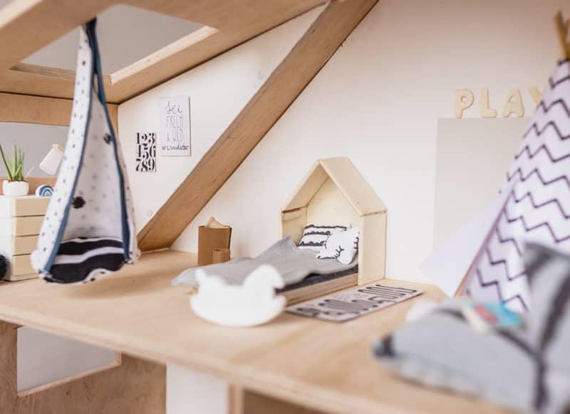 DIY Puppenhaus im Scandi Style