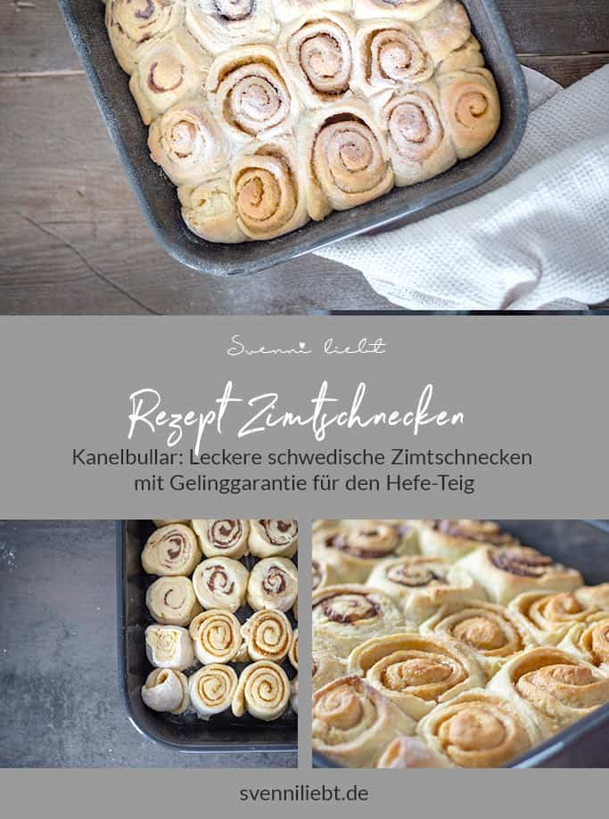 Rezept für schwedische Zimtschnecken auf Pinterest merken