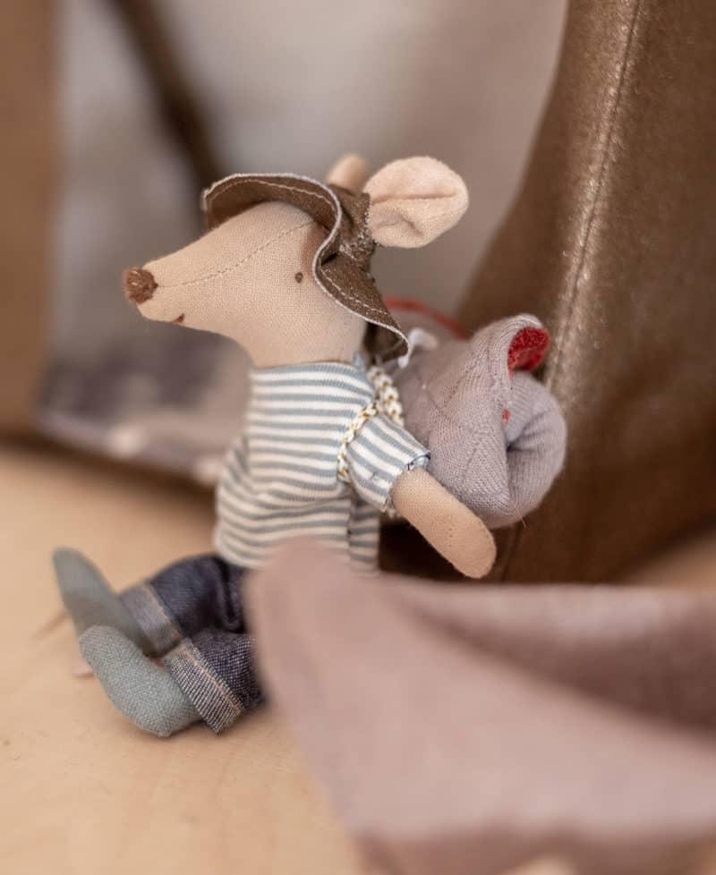 Abenteuer mit Zelt für Puppen und Maileg Mäuse