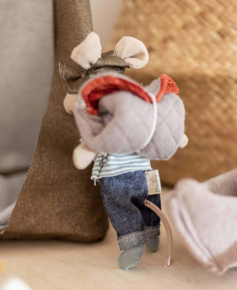 Schlafsack für Puppen nähen 1:12
