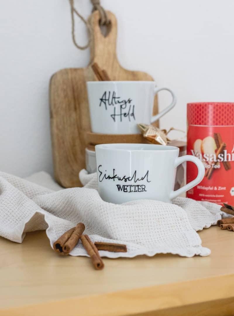 Tassen selbst bemalen – eine tolle Geschenkidee