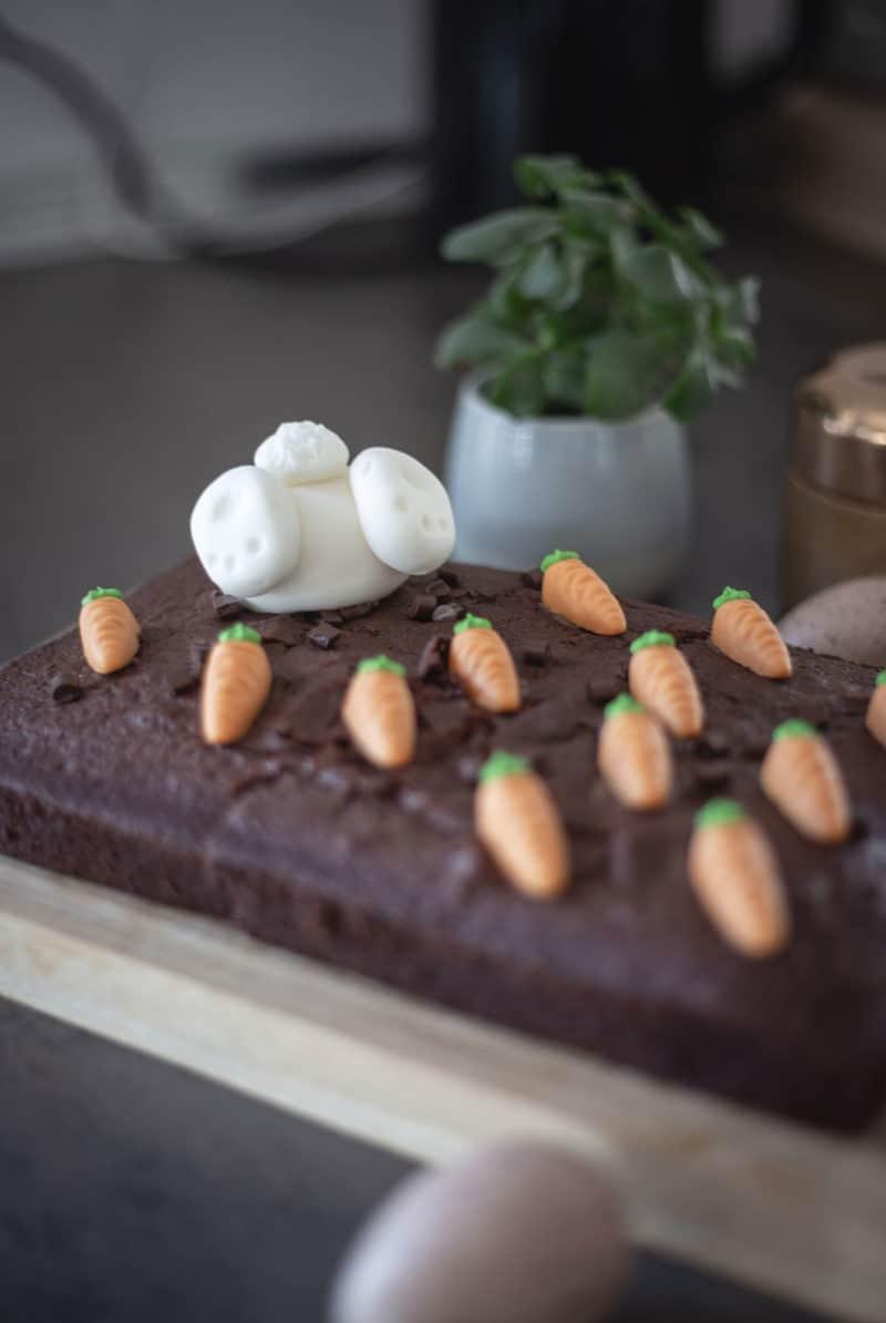Oster Cake-Topper Hasenpopo für Kuchen und Torten
