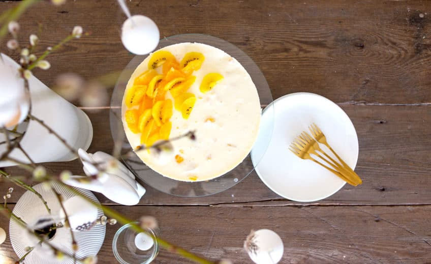 Rezept Joghurt-Orangen-Torte - Ostertorte