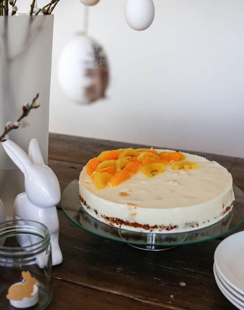 Joghurt-Orangen-Torte Rezept