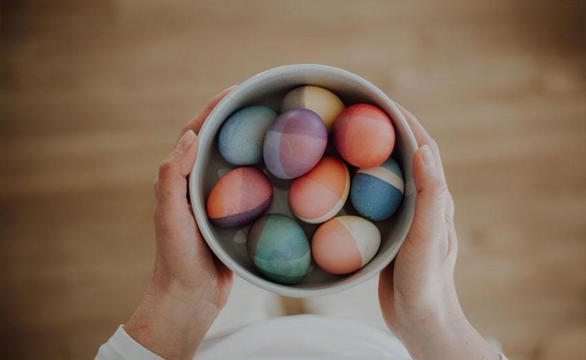 Ostern bei uns! Einblicke in unsere Osterzeit mit Bastelideen und Routinen