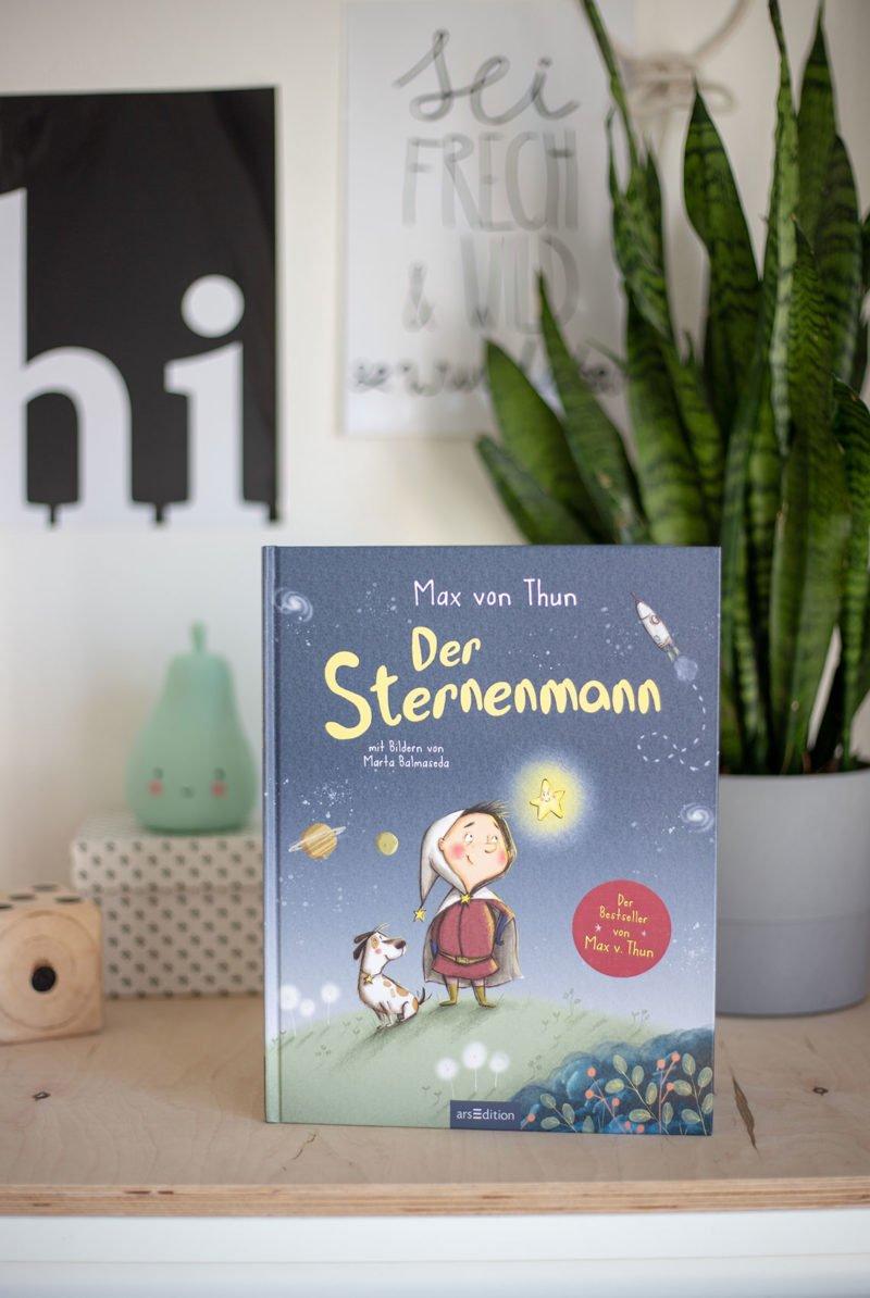 Der Sternenmann von Max von Thun - Kinderbuchtipp für Gute-Nacht-Geschichten für 3- bis 6-jährige