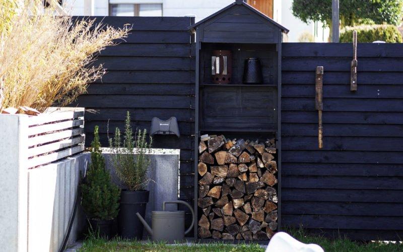 Lieblingsfarbe Schwarz im Garten – moderne Gartengestaltung mit Rückzugsorten