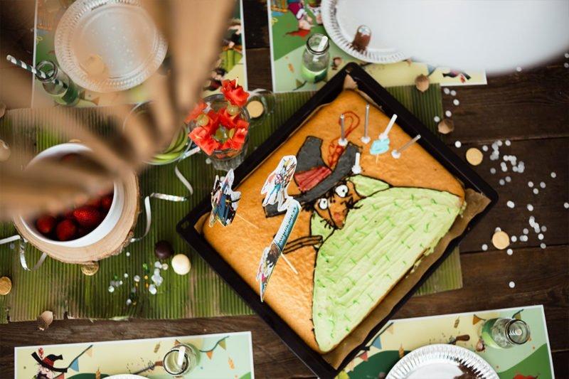 Tisch- und Partydeko für den Kindergeburtstag - Räuber Hotzenplotz