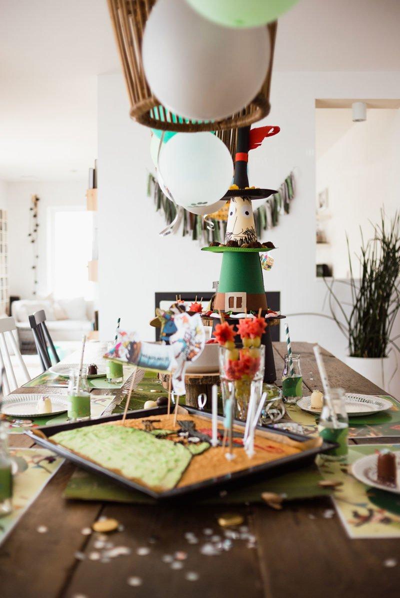 Kindergeburtstag mit Räuber Hotzenplotz – Ein Räuberfest mit Deko, DIY und Geburtstagstorte