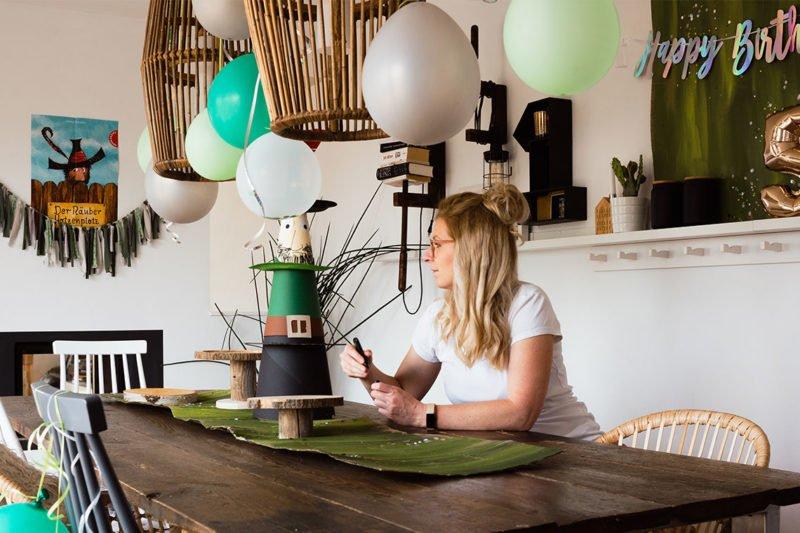 DIY Kuchenplatten aus Baumscheiben